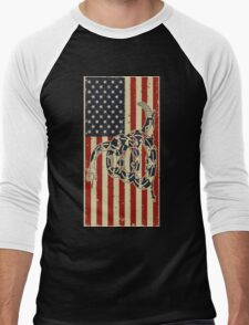 Don't Tread On Me Men's Baseball ¾ T-Shirt