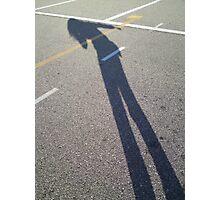 Shadowy Photographic Print