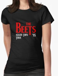 Beets Killer Tofu Tour 95 Womens Fitted T-Shirt