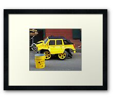 Transformers --  New Orleans Street Performer Framed Print