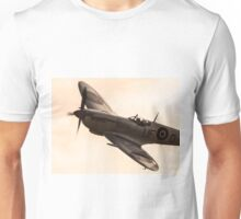 RAF Spitfire up close and personal Unisex T-Shirt