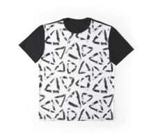 Grunge triangles Graphic T-Shirt