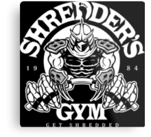 Shredder's Gym Metal Print