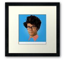 Moss - IT Crowd Framed Print