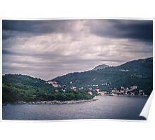 Dubrovnik Landscape Poster