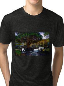 People Watching At Parque Calderon Tri-blend T-Shirt