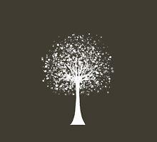 white tree Classic T-Shirt