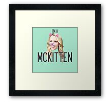 I'm a Mckitten Framed Print