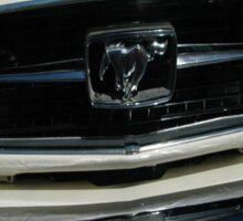 Ford Mustang Convertible Car T-shirt Design Sticker