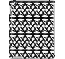 Black and white oranment iPad Case/Skin