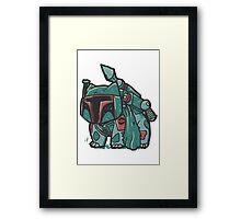 bulbasaur parody Framed Print