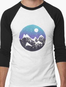 M-m-mountains Men's Baseball ¾ T-Shirt