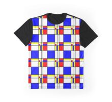 Piet Mondrian-Inspired 1 Graphic T-Shirt