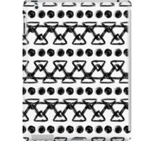 Black and white oranment #1 iPad Case/Skin