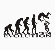 bmx freestyle, freestyle evolution Kids Tee