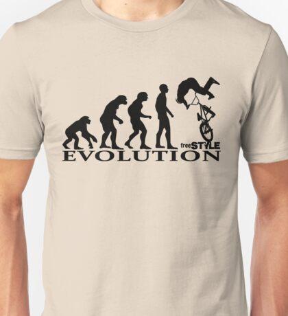 bmx freestyle, freestyle evolution Unisex T-Shirt
