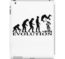 bmx freestyle, freestyle evolution iPad Case/Skin