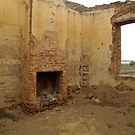 Station Master's House Ruins.Hawker_South Australia_Australia by Kay Cunningham
