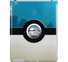 Blue Pokeball iPad Case/Skin