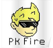 Pk Fire- Lucas (Mother 3) Poster