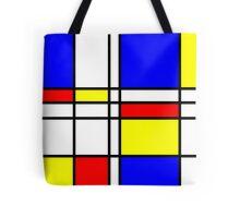 Piet Mondrian-Inspired 2 Tote Bag