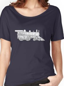 1893 World's Fastest Steam Locomotive Engine Women's Relaxed Fit T-Shirt
