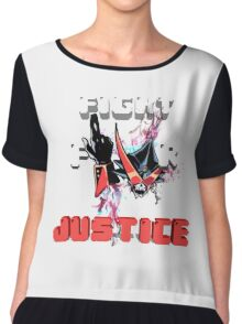 Overjustice -Fight for Justice!!!- Space patrol Luluco Chiffon Top