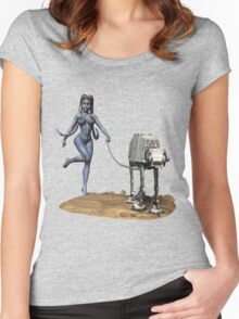 Sci-Fi Fantasy 3 Women's Fitted Scoop T-Shirt
