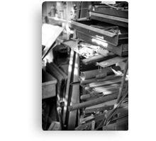 Scrap Iron Canvas Print