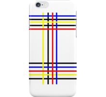 Piet Mondrian-Inspired 4 iPhone Case/Skin