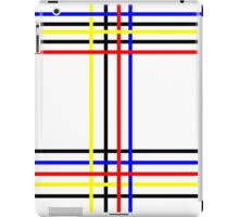 Piet Mondrian-Inspired 4 iPad Case/Skin