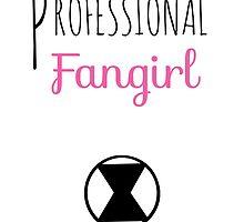Professional Fangirl - Black Widow by pinkpunk83
