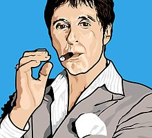 Al Pacino Scarface Pop Art  by Creative Spectator