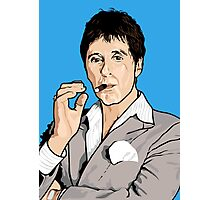 Al Pacino Scarface Pop Art  Photographic Print