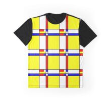 Piet Mondrian-Inspired 5 Graphic T-Shirt