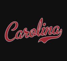 Carolina Script Garnet  T-Shirt