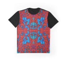 Red psychedelic kaleidoscope pattern Graphic T-Shirt
