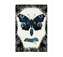 Grave of the Butterflies Art Print