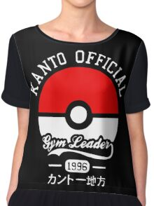 Kanto Official - Pokémon Chiffon Top