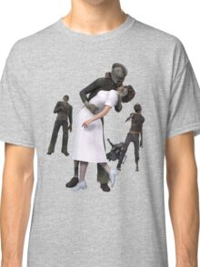 Zombies Kiss 2 Classic T-Shirt