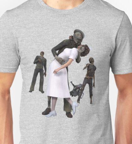 Zombies Kiss 2 Unisex T-Shirt
