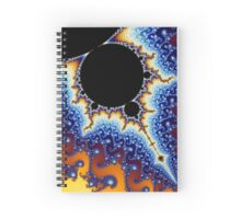 Mandelbrot Set Spiral Notebook