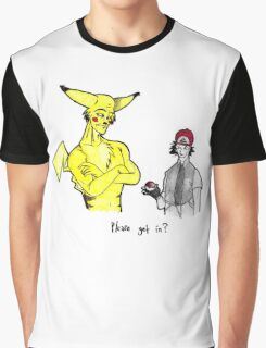 Pikachu is stronger than you Graphic T-Shirt