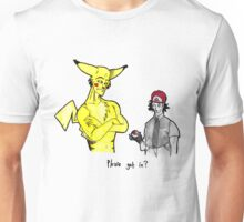 Pikachu is stronger than you Unisex T-Shirt