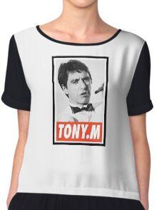 (MOVIES) Tony Montana Chiffon Top
