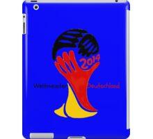 FIFA World Cup Champion  Deutschland Glückwunsch iPad Case/Skin