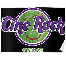 Cine Rock Gotham Poster