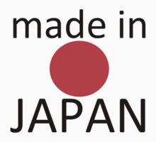 Made in Japan - transparent Kids Clothes