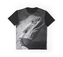 leguan, black and white Graphic T-Shirt
