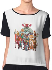 The DnD Group Chiffon Top